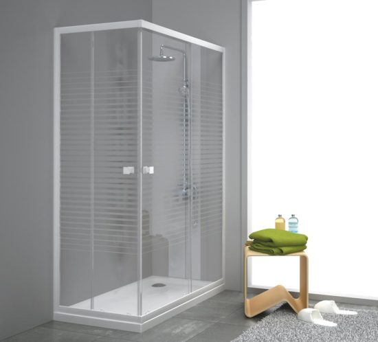 mamparas y ducha