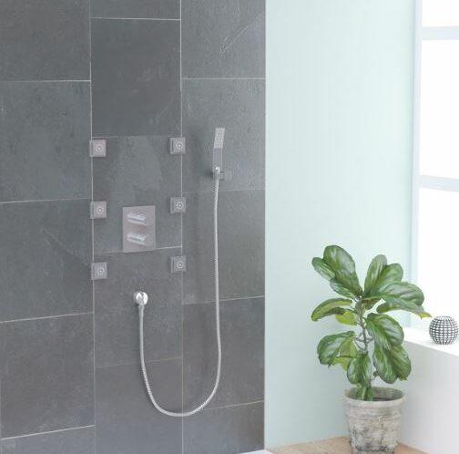 columna de ducha termoestática