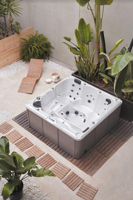 bañera jacuzzi